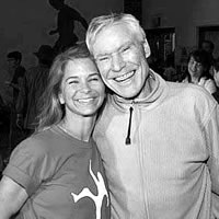 Kirstie and Jacques d'Amboise