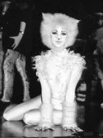 Kirstie as Victoria in Cats
