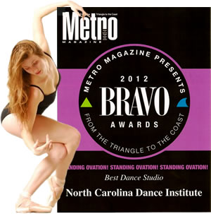 NCDI's Standing Ovation MetroBravo Award - click for a larger image